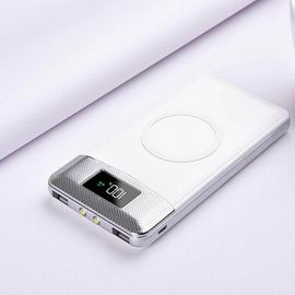 Fast Charging Wireless Power Bank , QI Wireless Portable Battery Pack
