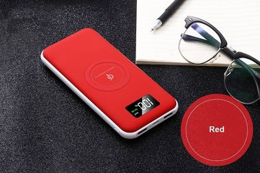 Dual USB 2.0 Port QI Wireless Power Bank Quick Charge With Led Lights