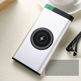 China Portable QI Wireless Fast Charging Power Bank For IPhone And Android Cellphone supplier