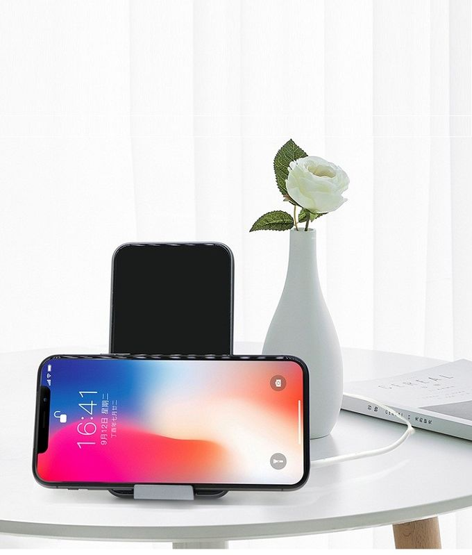 Popular QI Wireless Charger , Wireless Phone Charger Stand Built In Smart Sensor